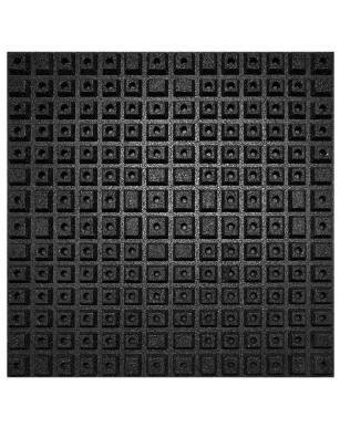 Płyta gumowa ANTISHOCK 100x100 cm 40 mm CROSSFIT SIŁOWNIA